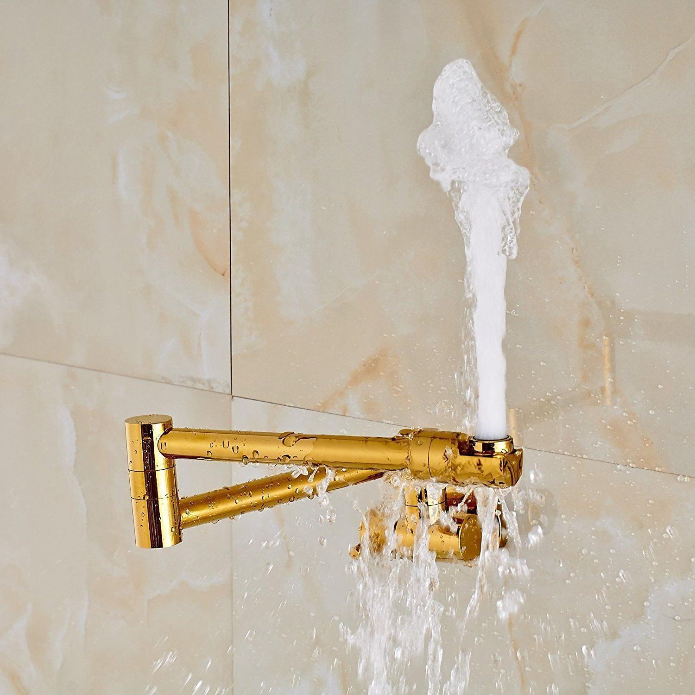 Rozin Folding Cold Water Kitchen Tap Pot Filler Bathroom Faucet