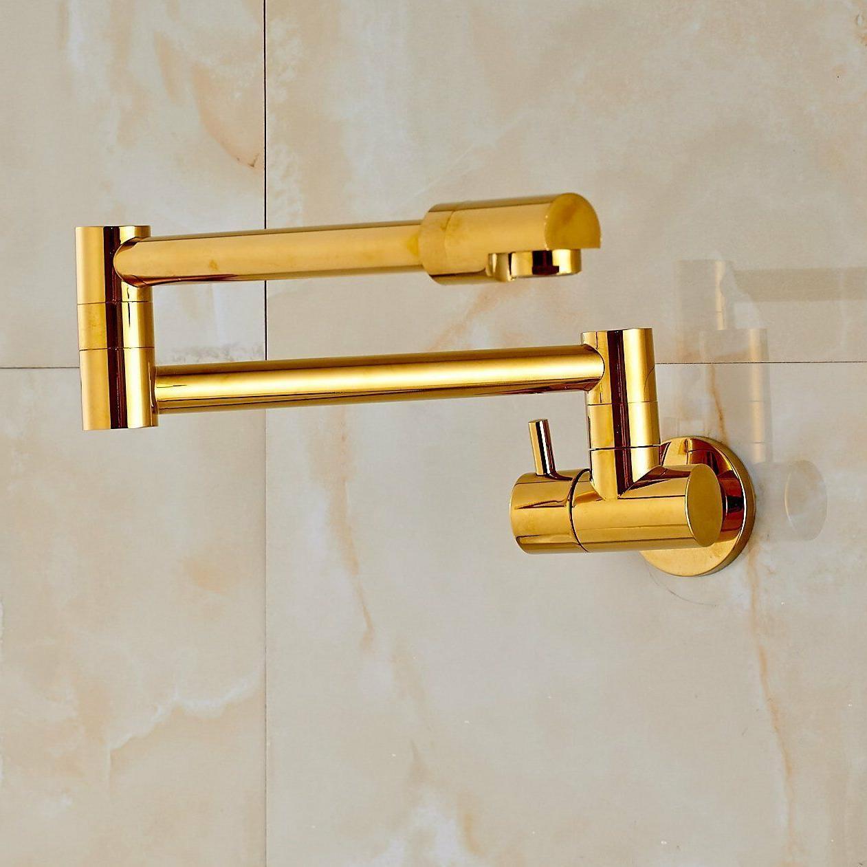Rozin Gold Single Tap Faucet