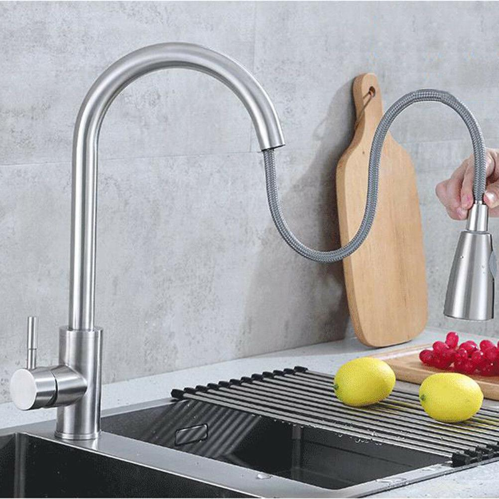High-Quality Kitchen Faucet Pull Out Sprayer Swivel Sink