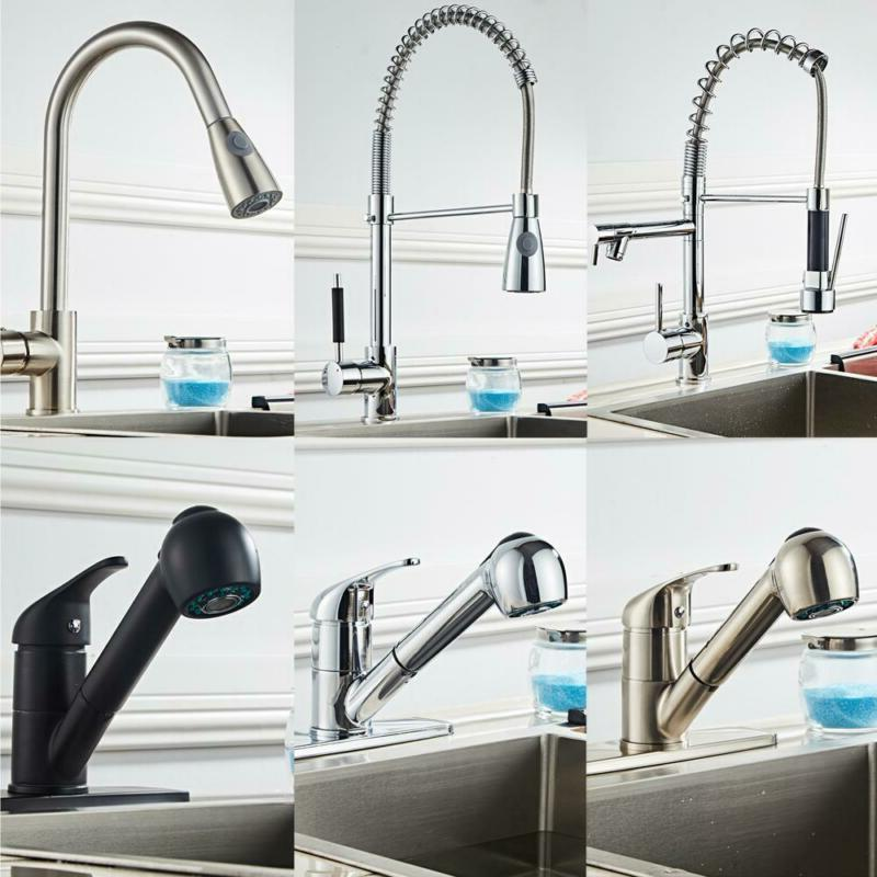 Multifunctional Mixed Pull Faucet Easy Install