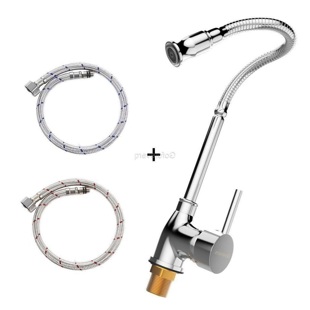 Home Faucet Stainless Steel Single Lever