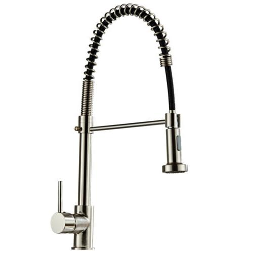 brushed finish nylon kitchen sink faucet pull