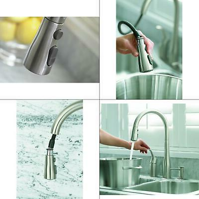 Kohler K-647-VS Vibrant Stainless Simplice Pull-Down Kitchen