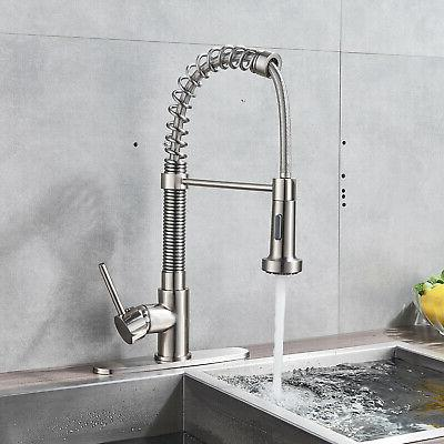 kingo home stainless steel kitchen sink faucet
