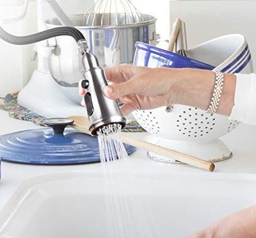 Templeton Kitchen - Touch-Free Spray Bonus Hands Soap Dispenser