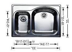 Blanco 511-745 Kitchen Sink - 2 Bowl