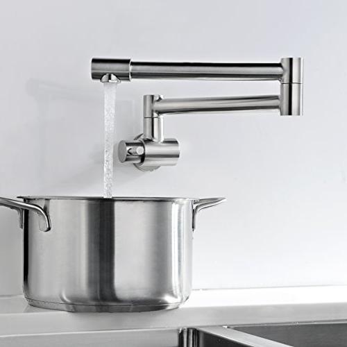 Avola Sink Filler Brushed Nickel Specific Faucet
