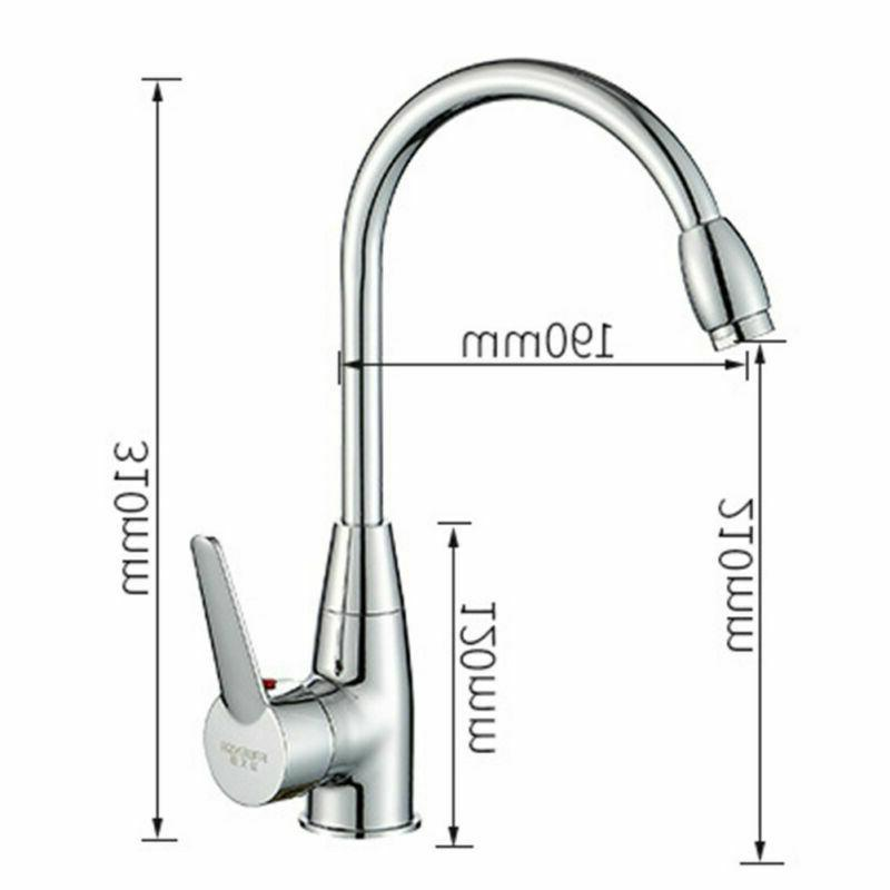 Kitchen Spring Swivel Sink Out Sprayer Mixer Tap