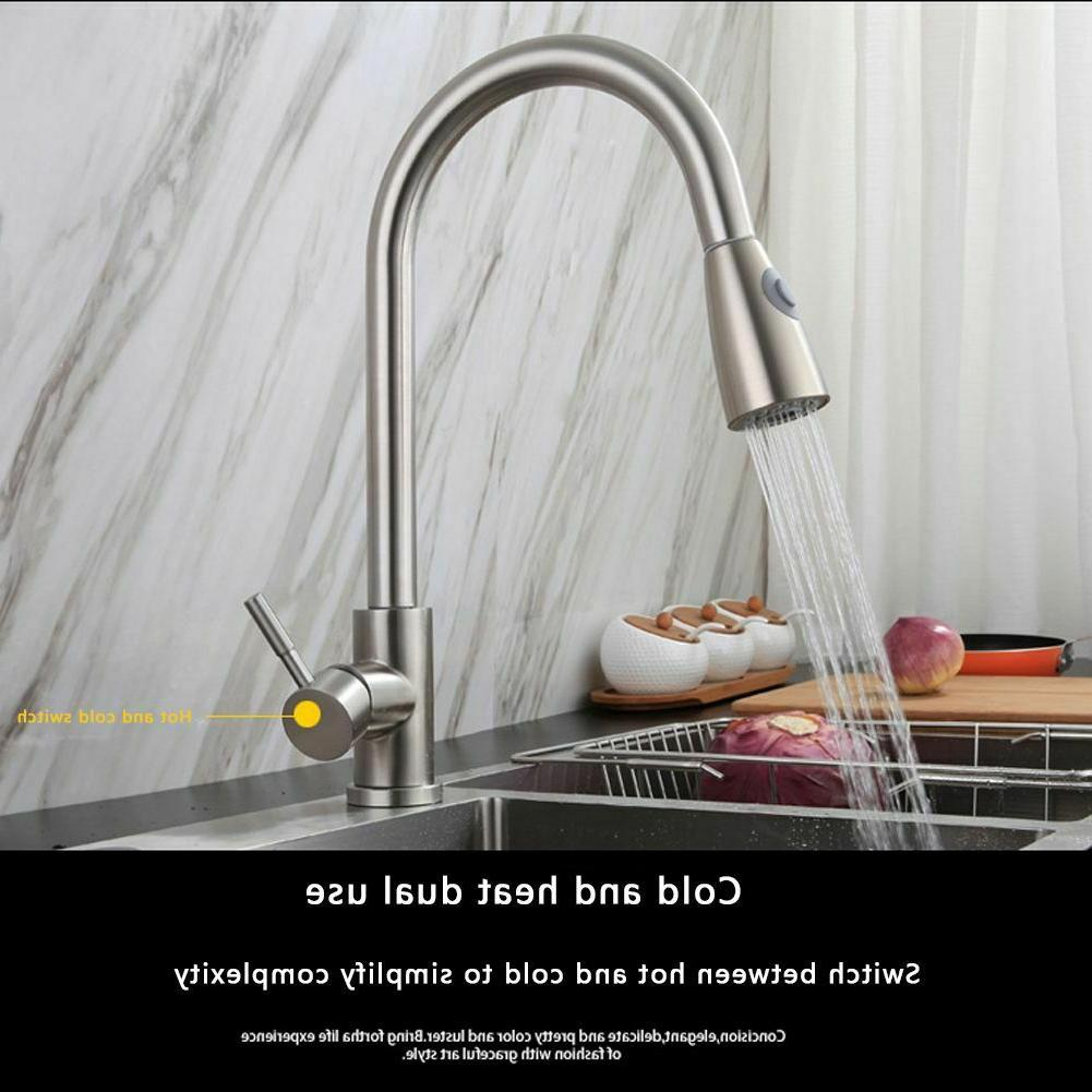 Kitchen Faucet Commercial Pull Out Sprayer