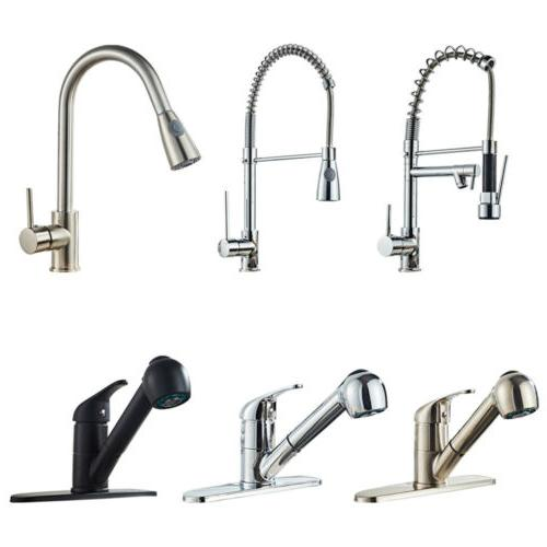Kitchen Spout Spring Sink Pull Down Spray Outlet