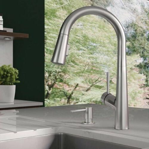 Hansgrohe Lacuna Pull Down Kitchen Faucet In Steel