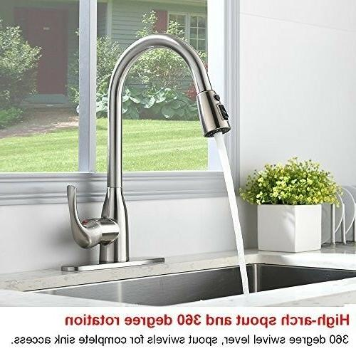 VALISY Modern Nickel Stainless Handle Faucet