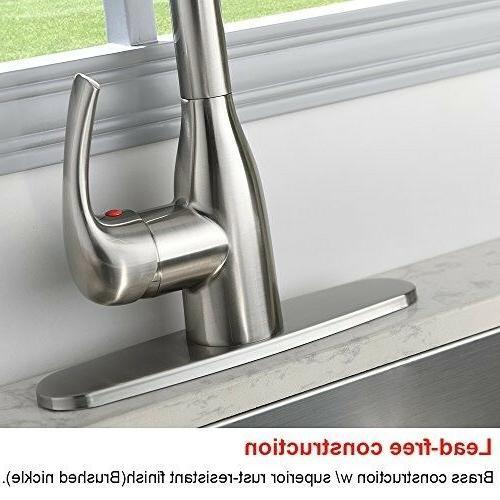 VALISY Lead-free Modern Nickel Stainless Handle