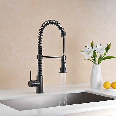 Avola Lead Free Single Handle Pull Sprayer Kitchen Sink