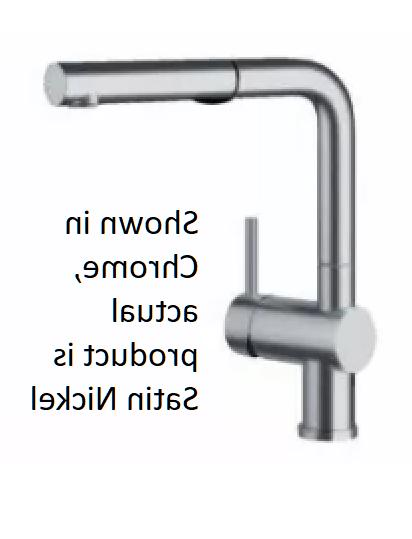 Blanco Linus 441431 Single Lever Pull-Out Kitchen Faucet in