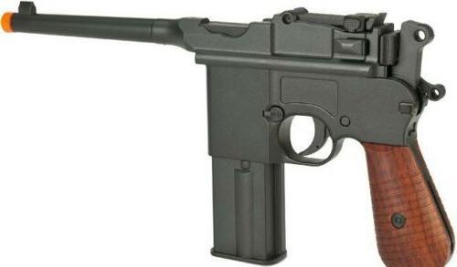 KWC M712 CO2 blowback Select FULL AUTO full metal pistol Mau