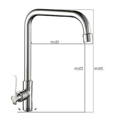 Chrome Modern Wash Basin Tap Kitchen