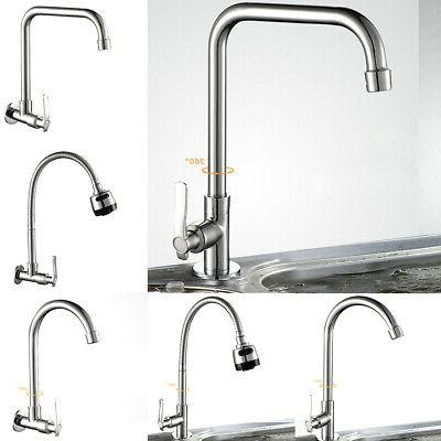 Modern Cold Basin Wash Faucet Tap Handle Kitchen