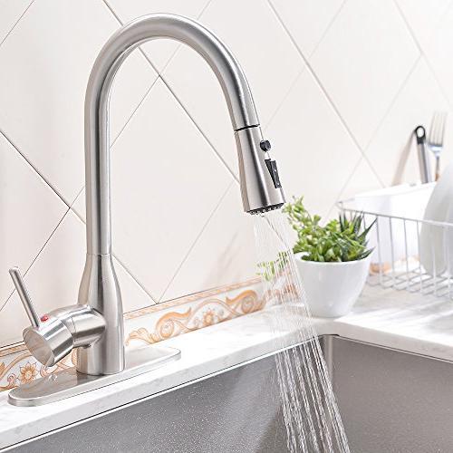 VESLA Modern Stainless Pause Sink Plate,