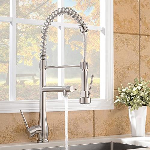 Arc Brushed Nickel Kitchen Sink