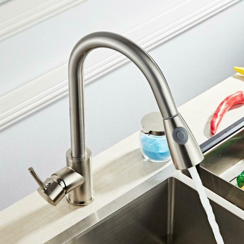 Multifunctional Kitchen Pull Faucet Install And