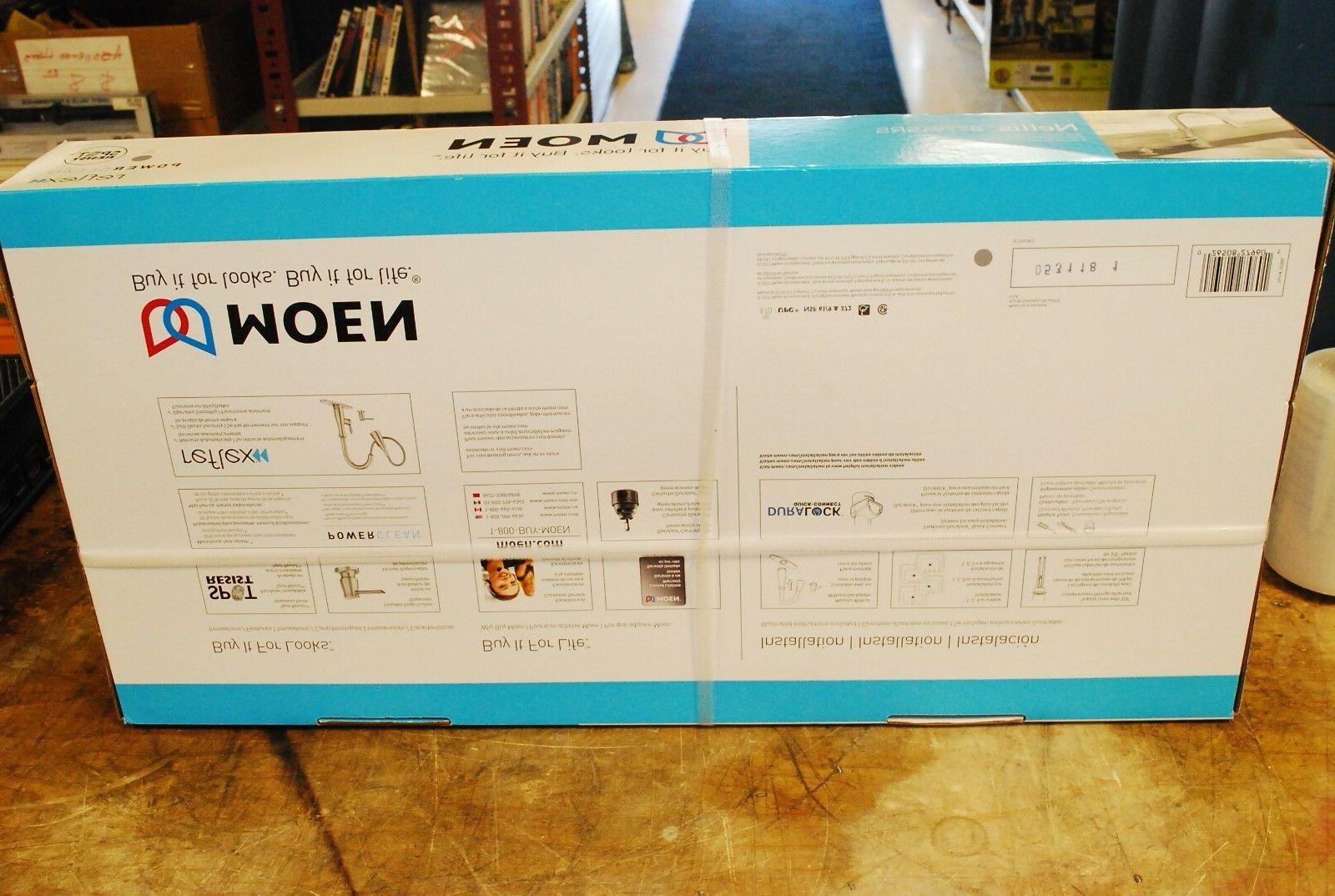 Moen Nellis Single-Handle Sprayer Kitchen Stainless 87794SRS