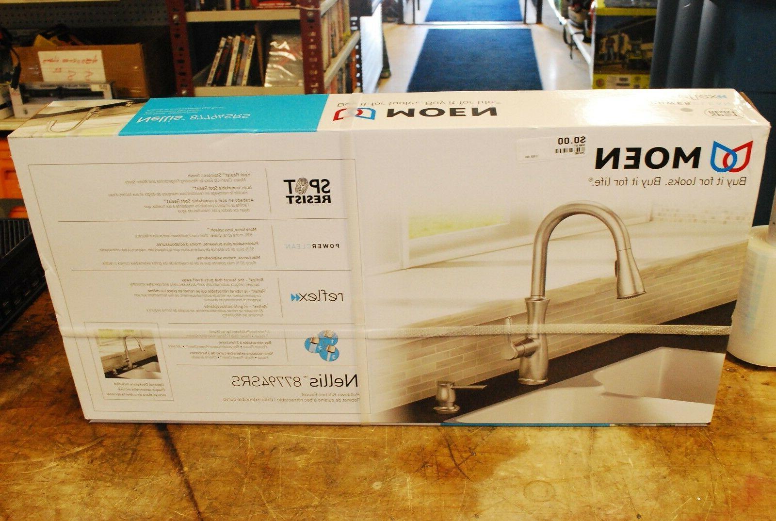 nellis single handle pull down sprayer kitchen