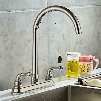 Chrome Faucet Spout Single Swivel Mixer US