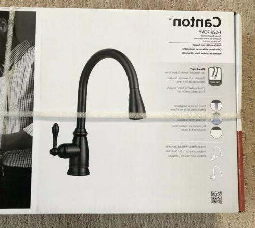NEW Canton Tuscan Bronze Pulldown Kitchen Faucet