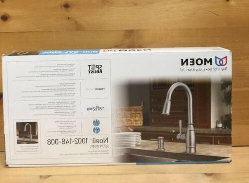 Moen Noell Single Handle Pull Down Sprayer Kitchen Faucet