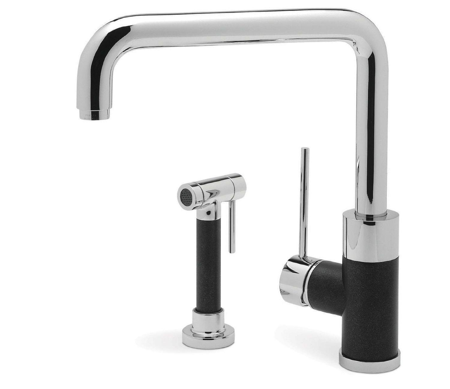 Blanco Purus I 440602 1-Handle Kitchen Faucet Side Spray Chr