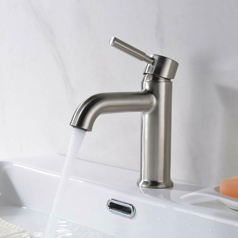 Avola Single Sink Lead Free Solid Nickel