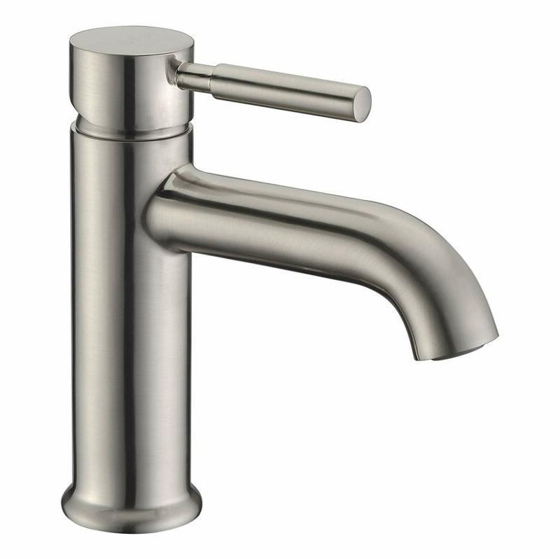 single handle bathroom sink faucet lead free