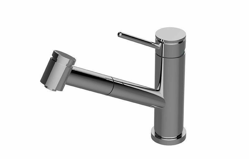 Mounted Faucet Polished Chrome
