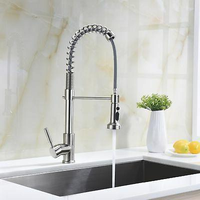 Avola Single Handle High Arc Nickel Out Faucet,Single Level