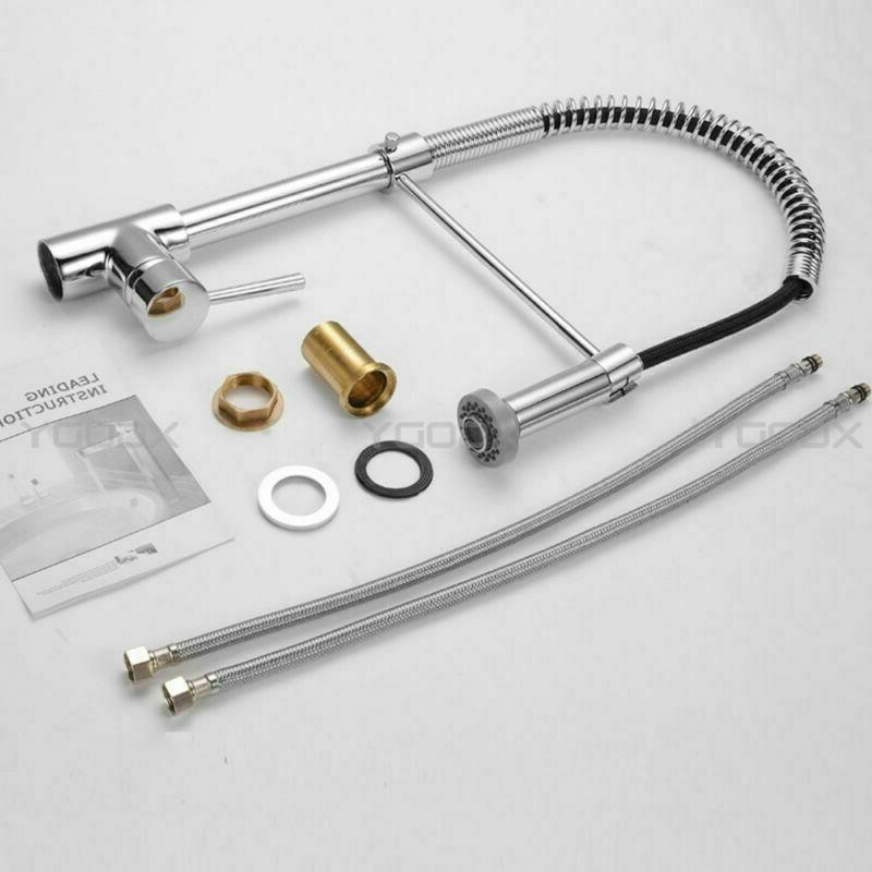 Single Swivel Spout Sprayer Bar Mixer Tap