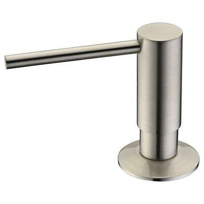 Avola Solid Brass Pump Head Kitchen Sink Liquid Soap Dispens