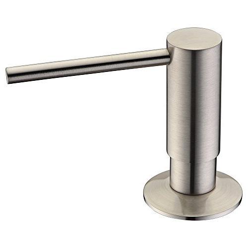 solid brass pump head kitchen