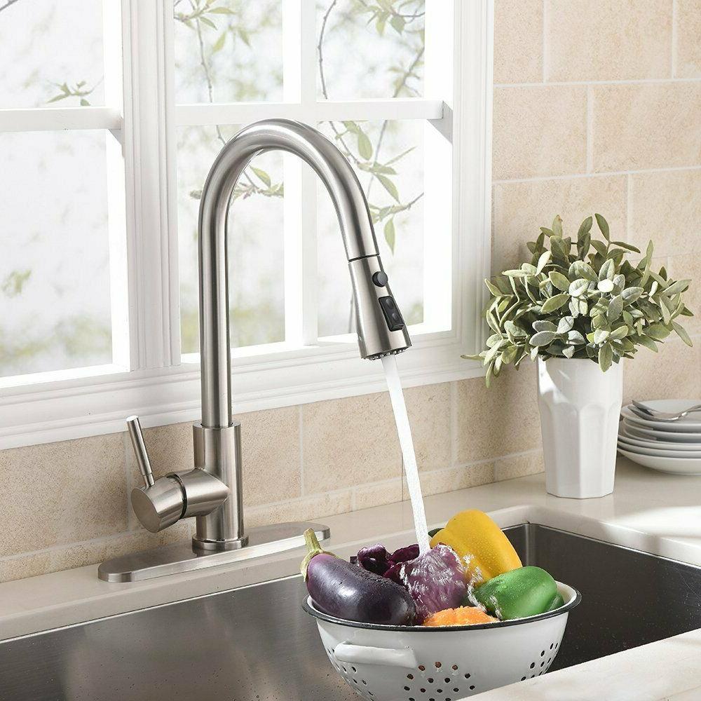 chrome brass kitchen faucet bar