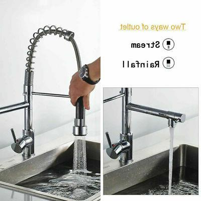 Spring Chrome Bar Sink Faucet Out