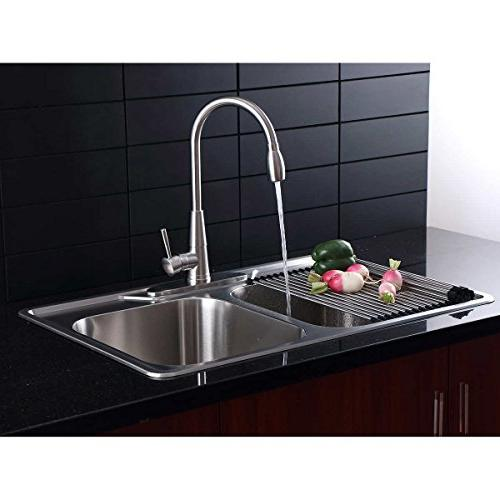 Stainless Kitchen Sink Pull Down