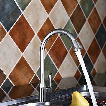 Stainless 360° Spout Kitchen Home Cold Water Faucet