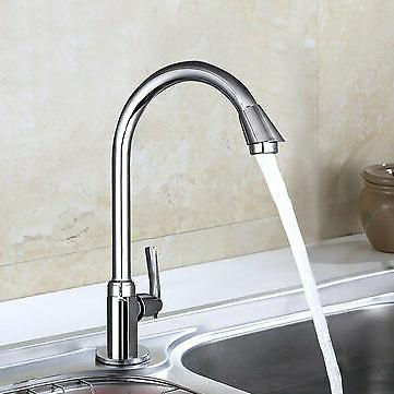 Stainless Single Lever 360° Kitchen Home Cold Water