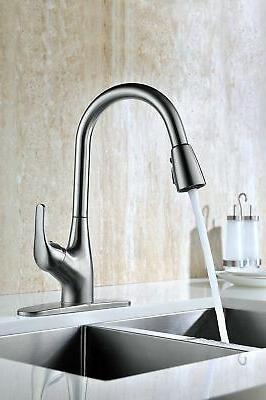 Purelux Tulip Contemporary Down Kitchen Sink