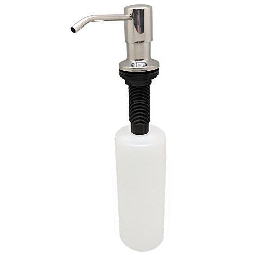 Ultimate Best Stainless Sink Dispenser - 17 Bottle - Easy Built