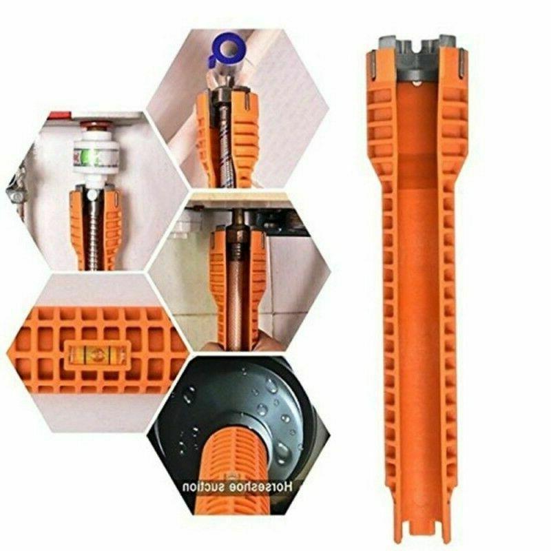 Orange Durable DJR Faucet and Sink Installer Install Tool Ki