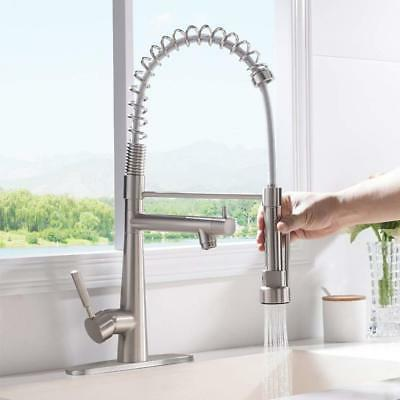 VAPSINT High Commercial Stainless Steel Kitchen Faucet