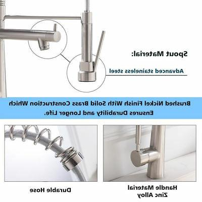 VAPSINT Modern High Arch Commercial Lead-Free Stainless
