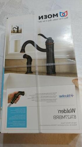 Moen Walden Kitchen Faucet Side Sprayer Microban Mediterrane