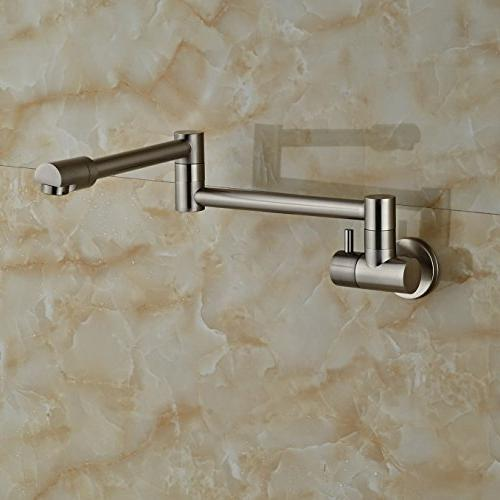 Rozin Single Cold Kitchen Faucet Tap Brushed